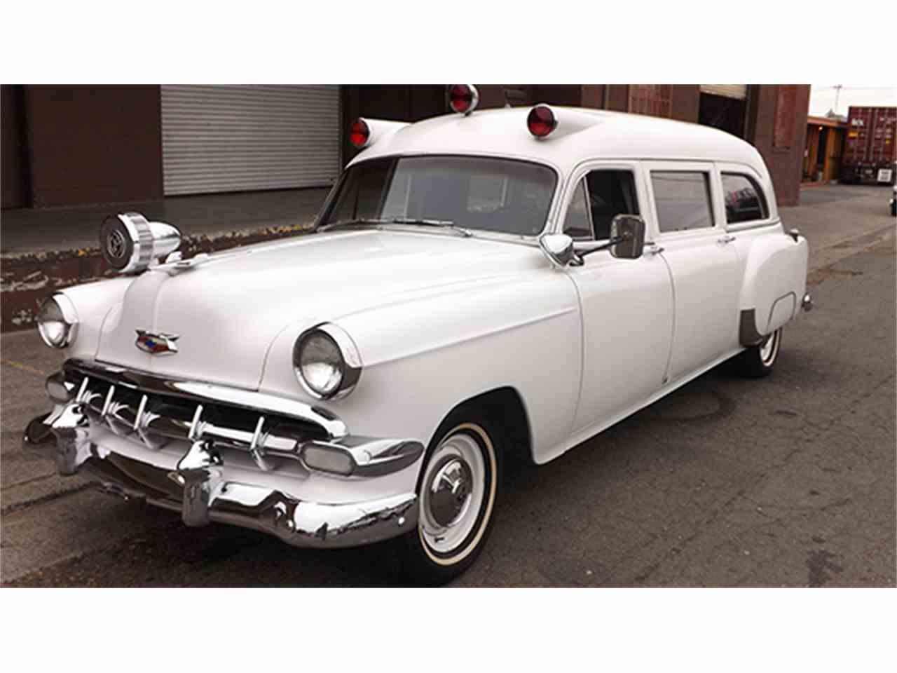 1954 Chevrolet 150 Special Ambulance for Sale | ClassicCars.com | CC ...