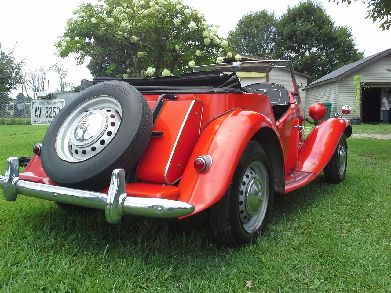 Large Picture of '54 MG TD located in Hurricane West Virginia - J4BM
