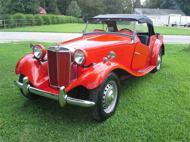 Picture of Classic 1954 MG TD located in Hurricane West Virginia - $22,500.00 Offered by a Private Seller - J4BM