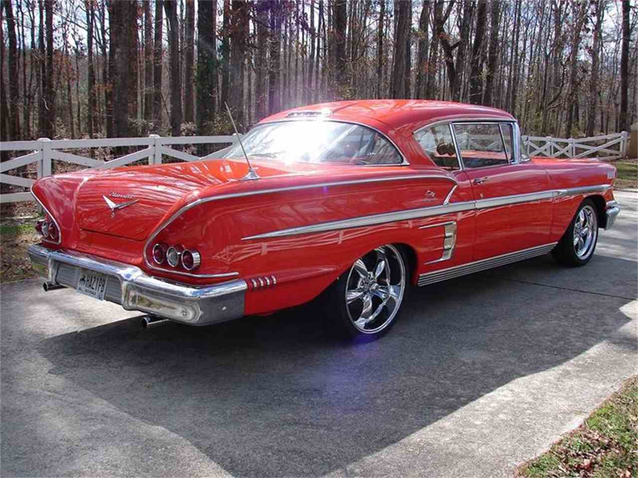 Large Picture of '58 Impala - J4CQ