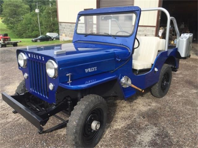 1955 Willys Jeep SJ3B