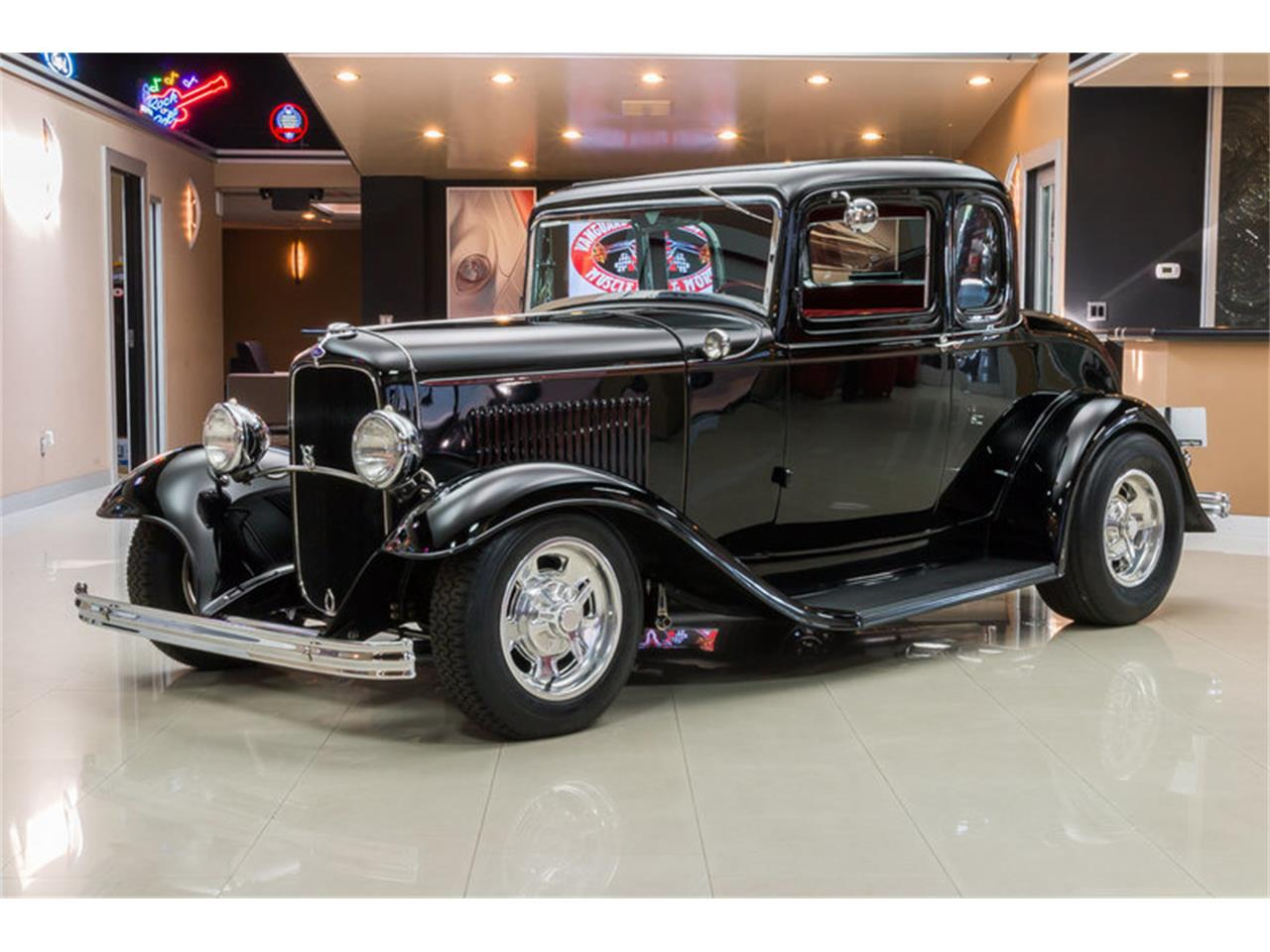 Large Picture of '32 5-Window Coupe Street Rod - J4U6