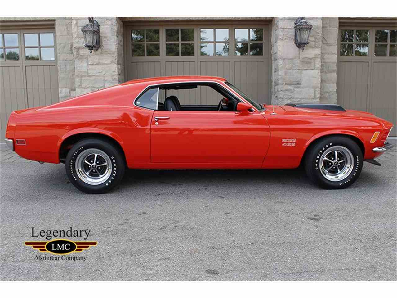 Large Picture of '70 Mustang - J56C