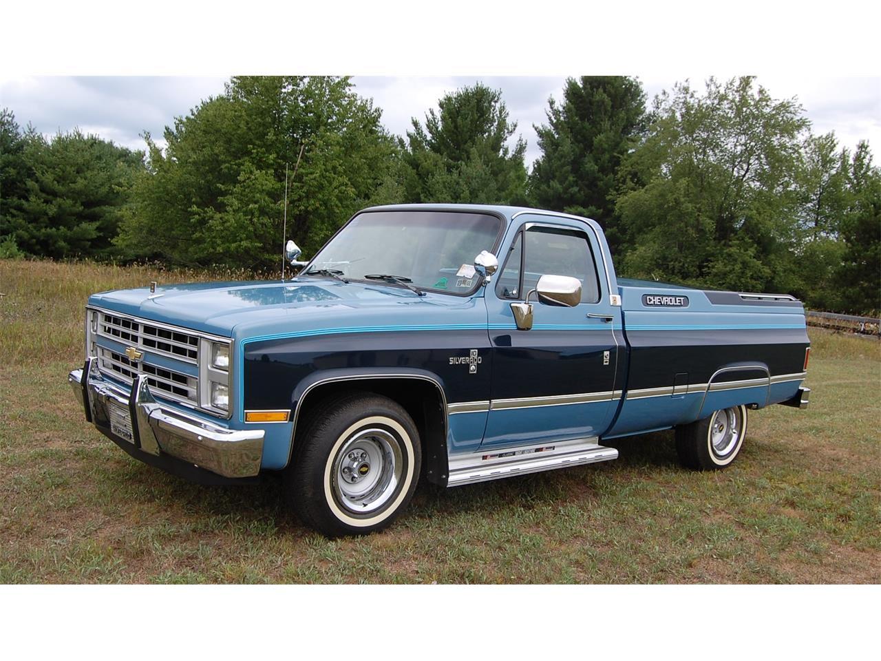 1987 Chevrolet Silverado For Sale Classiccars Com Cc 893247