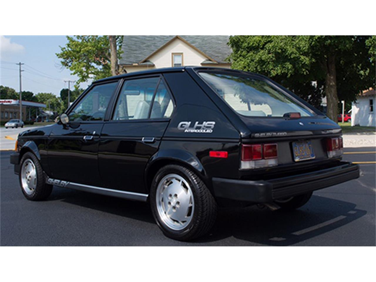 shelby dodge omni glhs  door hatchback  sale classiccarscom cc