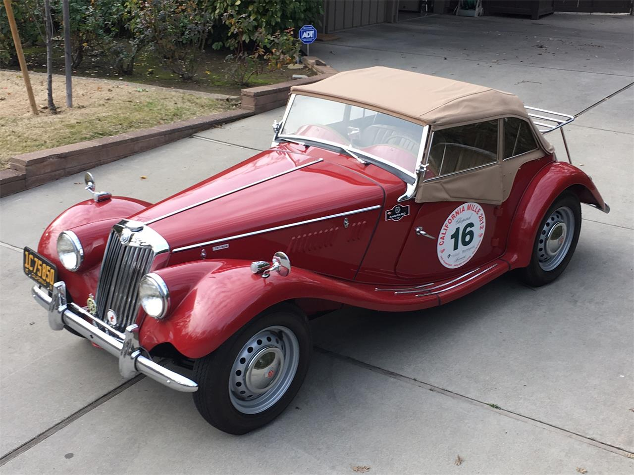 Cars For Sale In Stockton Ca: 1954 MG TF For Sale