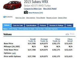 Picture of '15 WRX - $29,980.00 Offered by All American Auto Mart Inc - J2RC