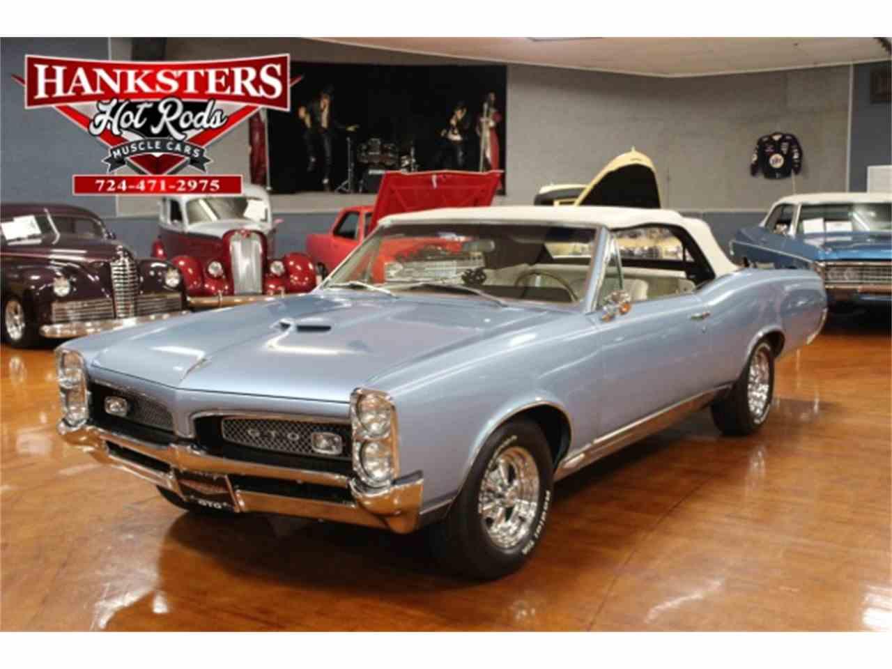 1967 Pontiac GTO for Sale   ClassicCars.com   CC-890414