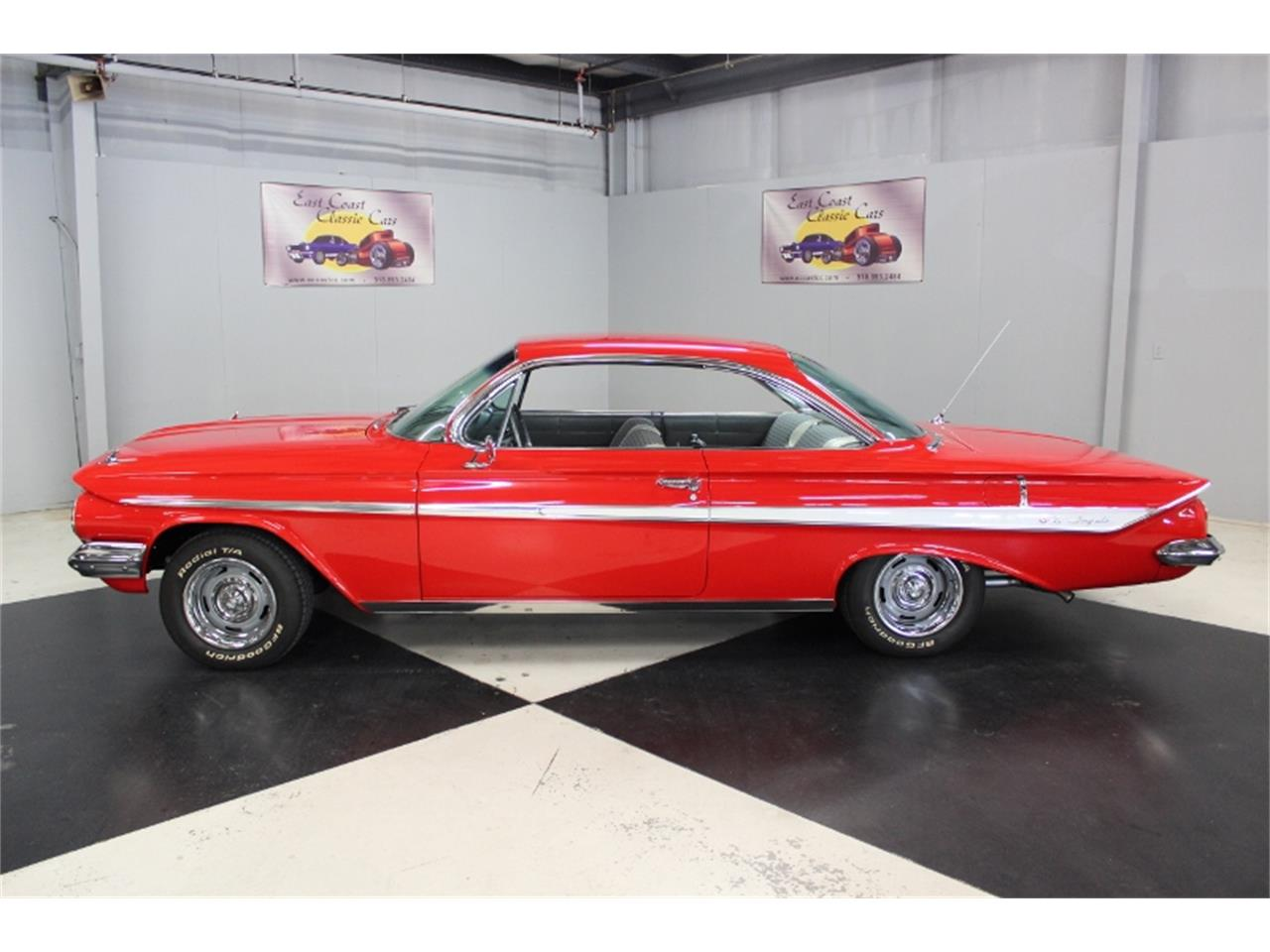 Large Picture of Classic 1961 Chevrolet Impala located in Lillington North Carolina - $58,000.00 Offered by East Coast Classic Cars - J60W