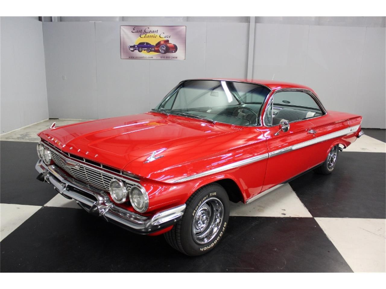 Large Picture of 1961 Impala located in North Carolina - $58,000.00 Offered by East Coast Classic Cars - J60W