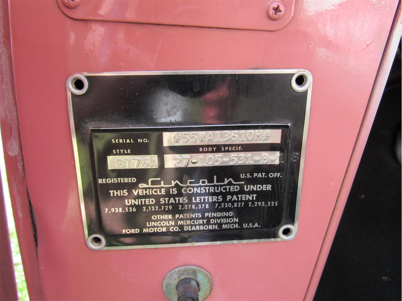 Large Picture of '55 Capri - J61P