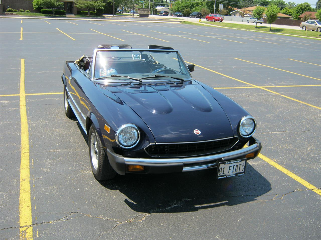 Fiat Spider For Sale >> For Sale 1981 Fiat Spider In Chicago Illinois