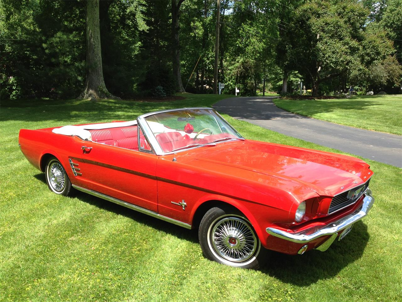 Large Picture of Classic '66 Ford Mustang located in Connecticut Offered by a Private Seller - J6KE