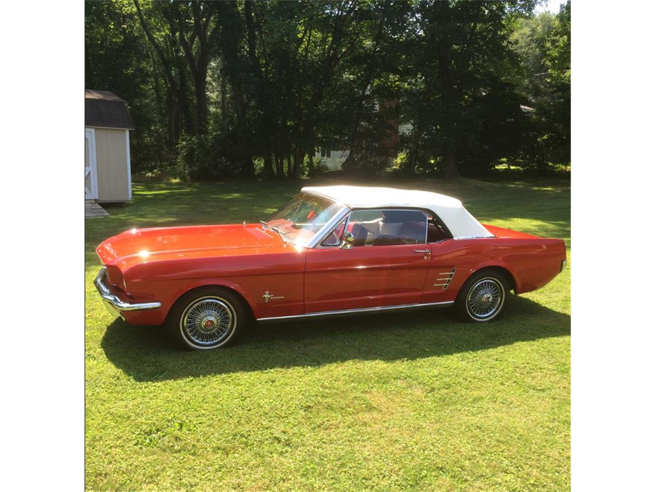 Large Picture of Classic 1966 Ford Mustang - $22,000.00 Offered by a Private Seller - J6KE