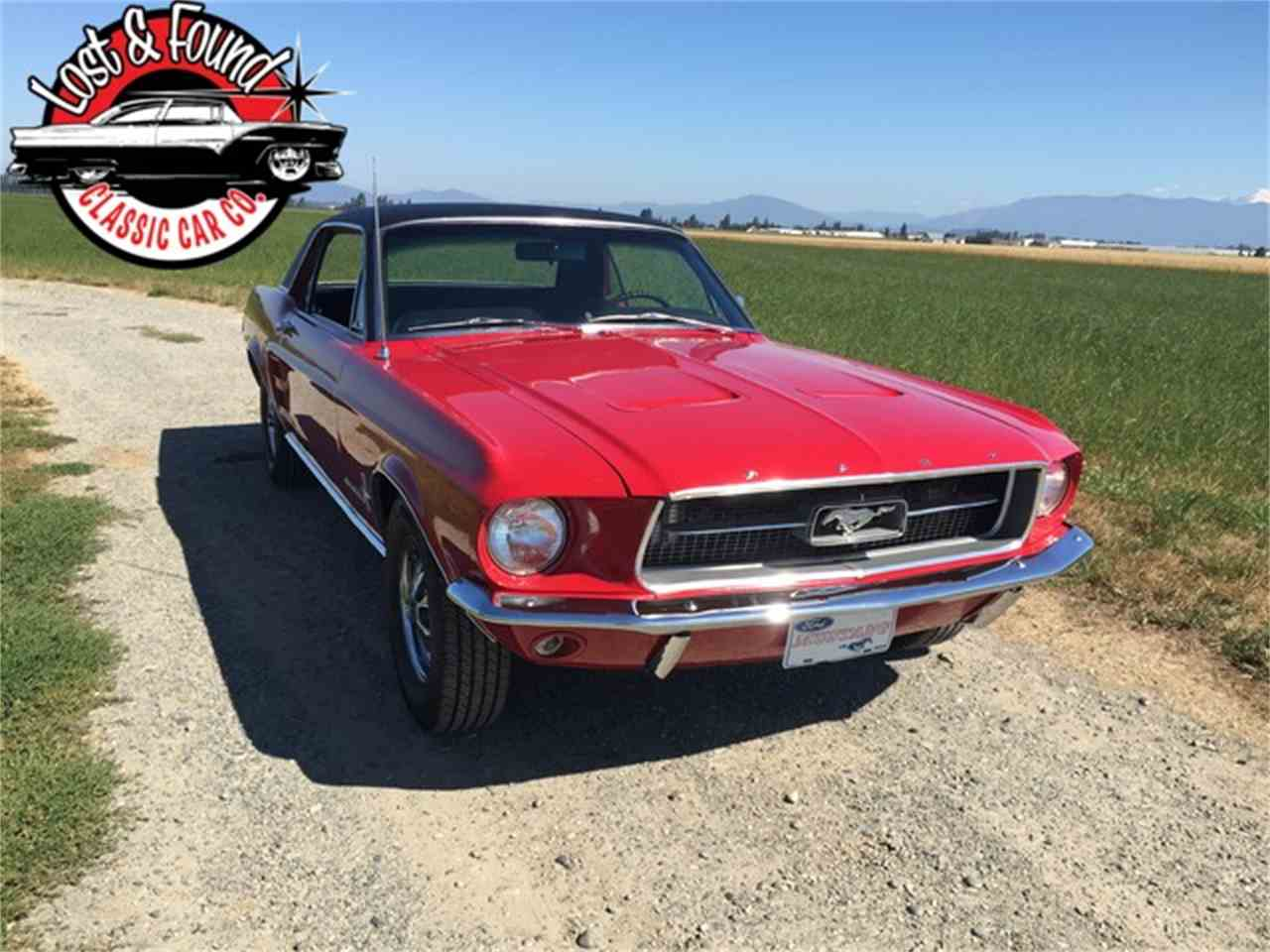Large Picture of '67 Mustang - J772