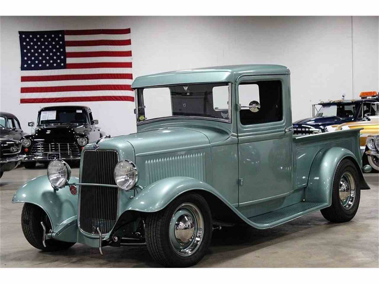 1934 Ford Pickup Nostalgic Hot Rod for Sale | ClassicCars.com | CC ...