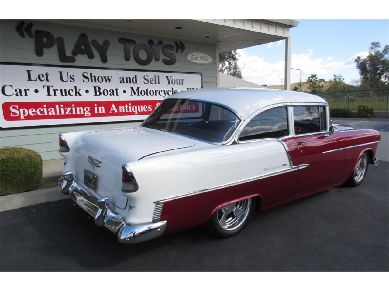 Large Picture of '55 Bel Air - J7AU
