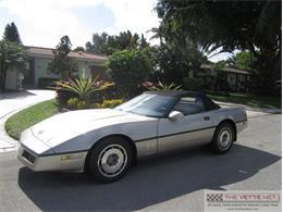 Picture of 1987 Chevrolet Corvette located in Florida - J7EV