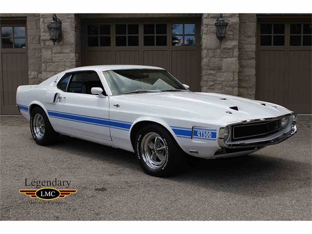 Large Picture of 1969 Shelby GT500 - $79,900.00 Offered by Legendary Motorcar Company - J7PJ