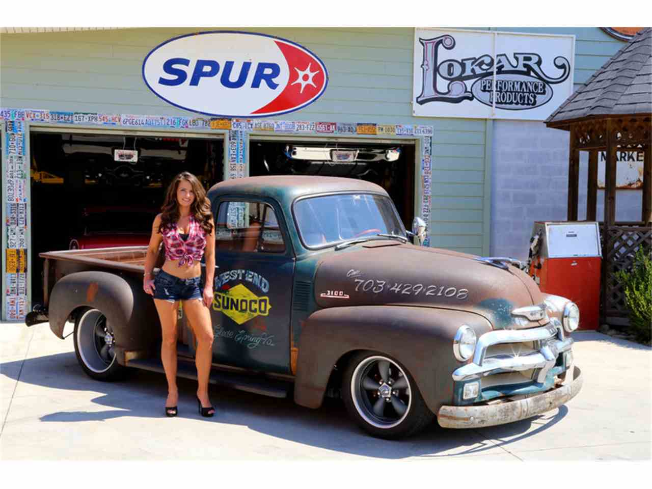 Large Picture of Classic '54 Chevrolet 3100 located in Lenoir City Tennessee Offered by Smoky Mountain Traders - J7SE
