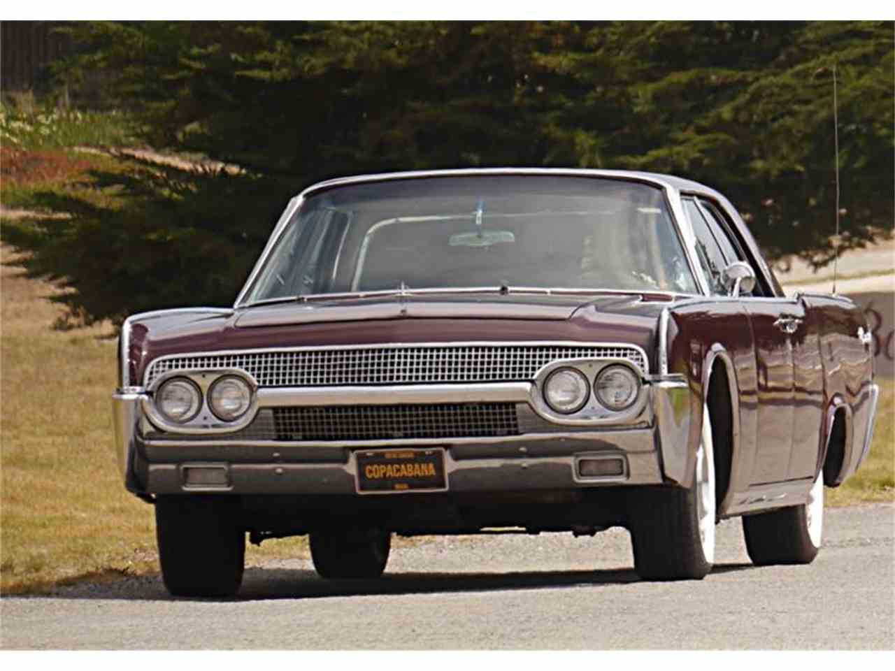 Large Picture of '61 Continental - J7TB
