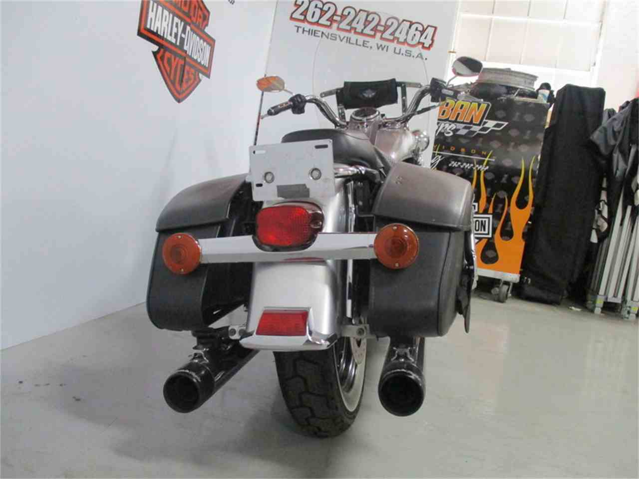 Large Picture of 2003 Harley-Davidson® FLHRC - Road King® Classic located in Thiensville Wisconsin - $7,734.00 Offered by Suburban Motors, Inc. - J8B5