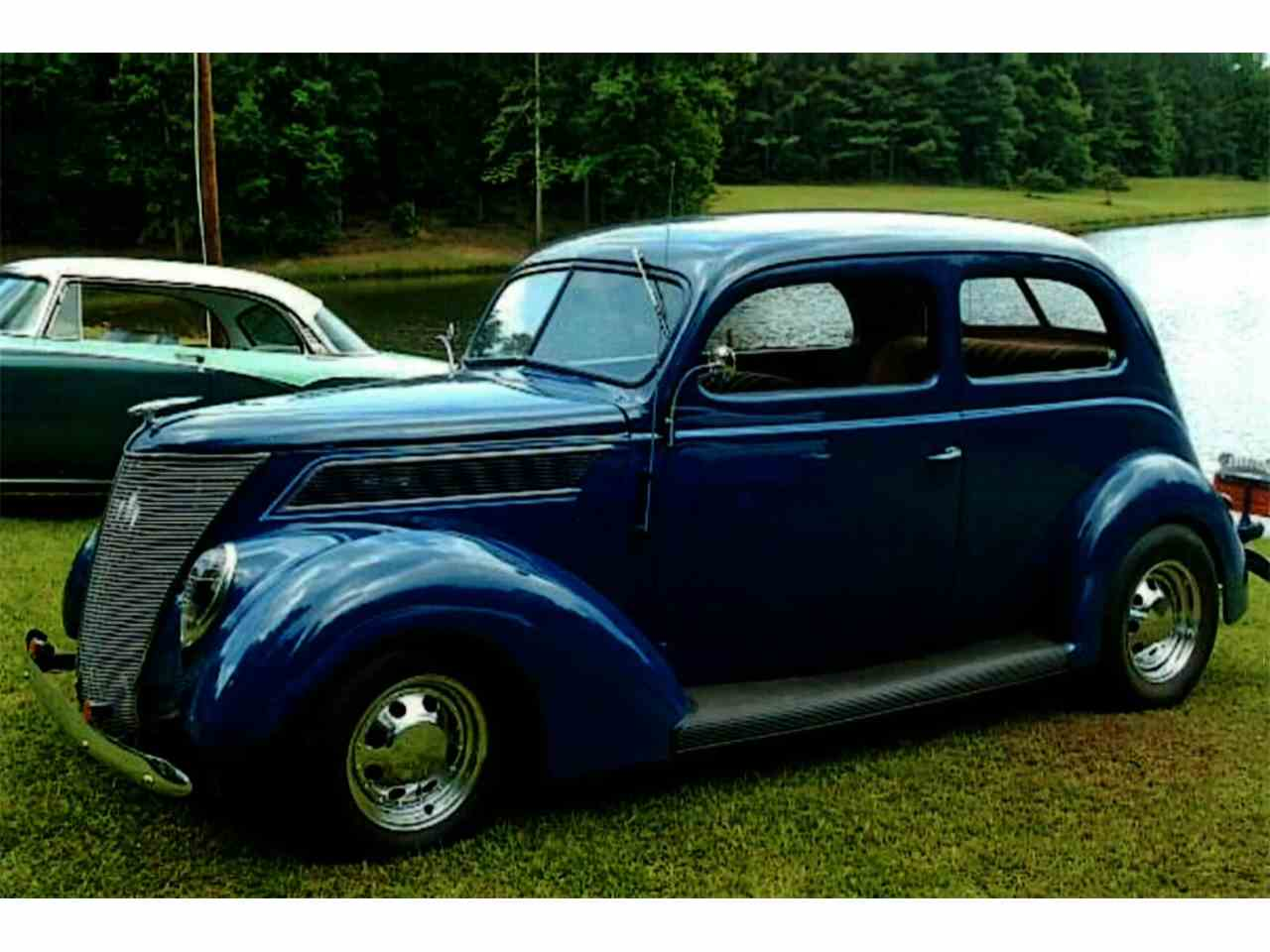 Large Picture of Classic 1937 Ford Slantback Street rod located in Georgia Offered by Muscle Car Jr - J8HL