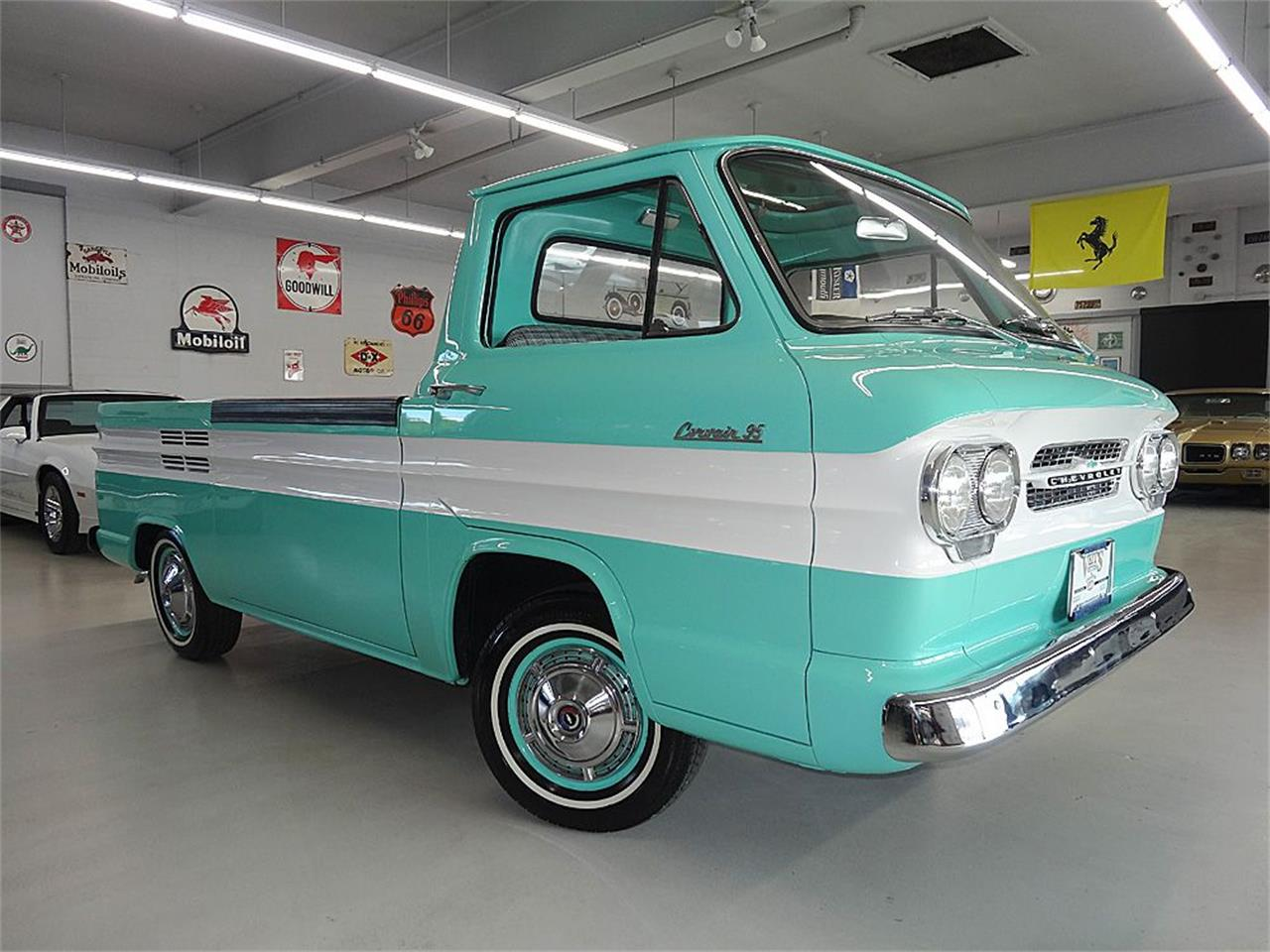 1961 Chevrolet Corvair Rampside For Sale Cc 898189 Chevy Panel Van Large Picture Of 61 J91p