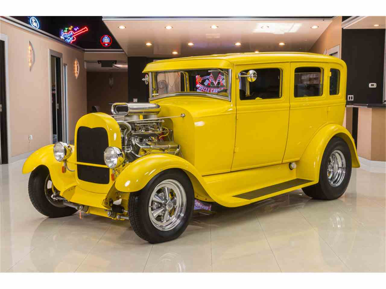 1929 Ford Model A Fordor Sedan Street Rod for Sale | ClassicCars ...