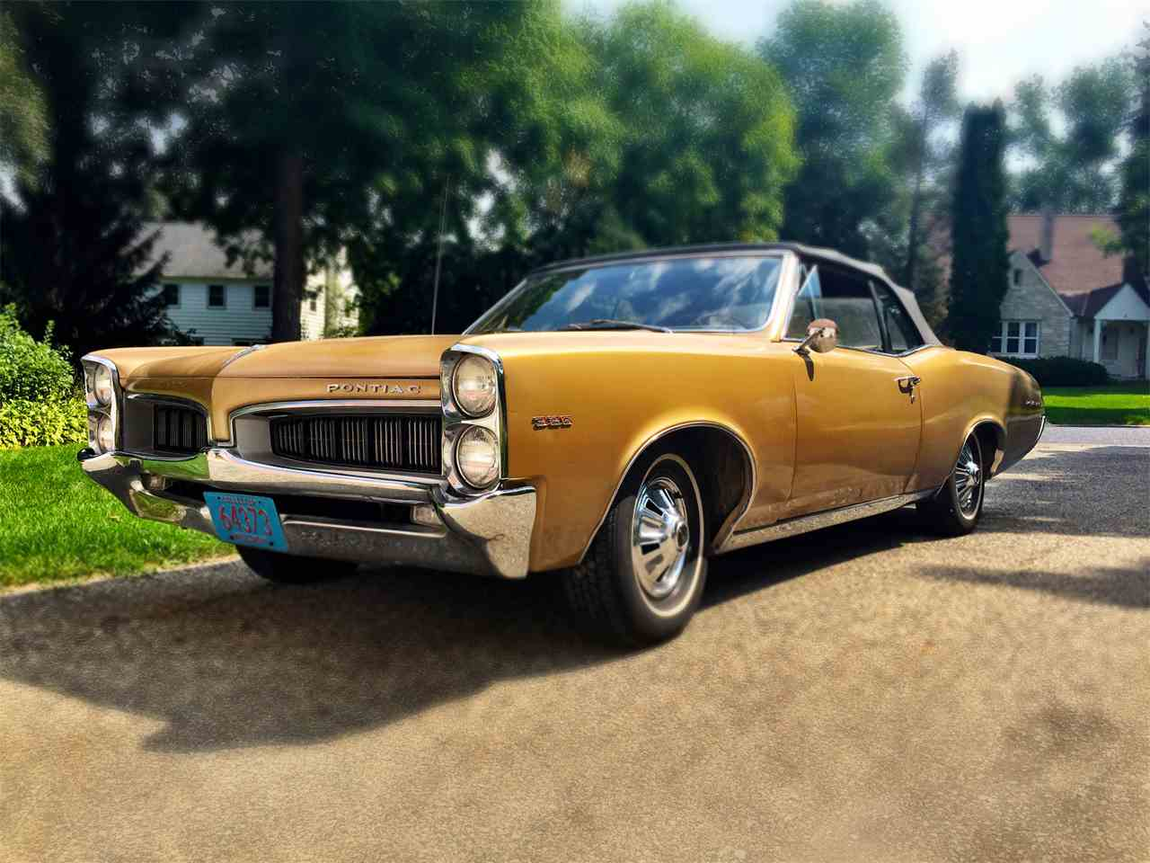 Large Picture of Classic 1967 Pontiac LeMans located in Madison Wisconsin - $12,000.00 Offered by a Private Seller - J9C1