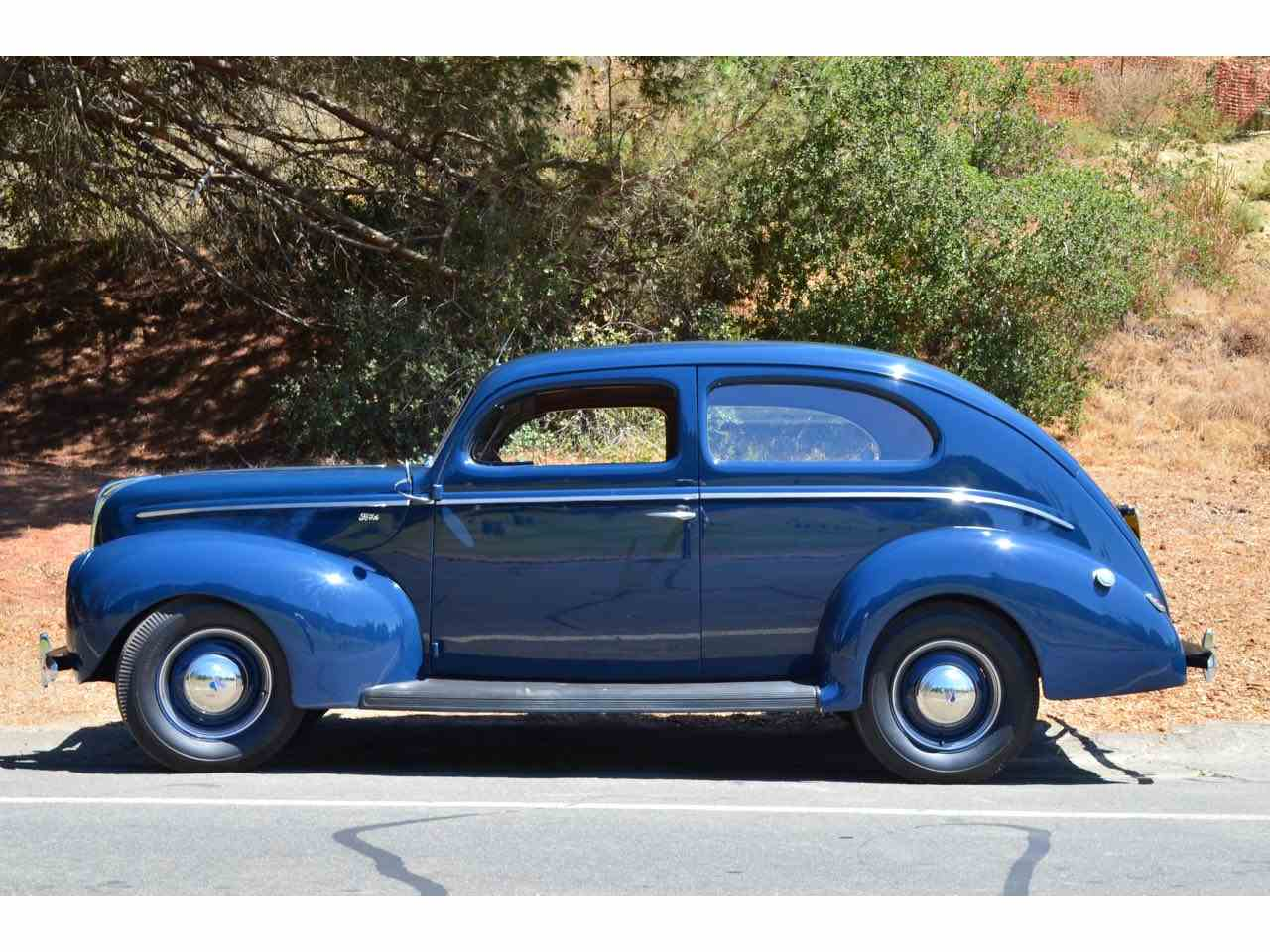 Large Picture of Classic 1940 Ford Tudor located in Ventura California Offered by Spoke Motors - J9J9
