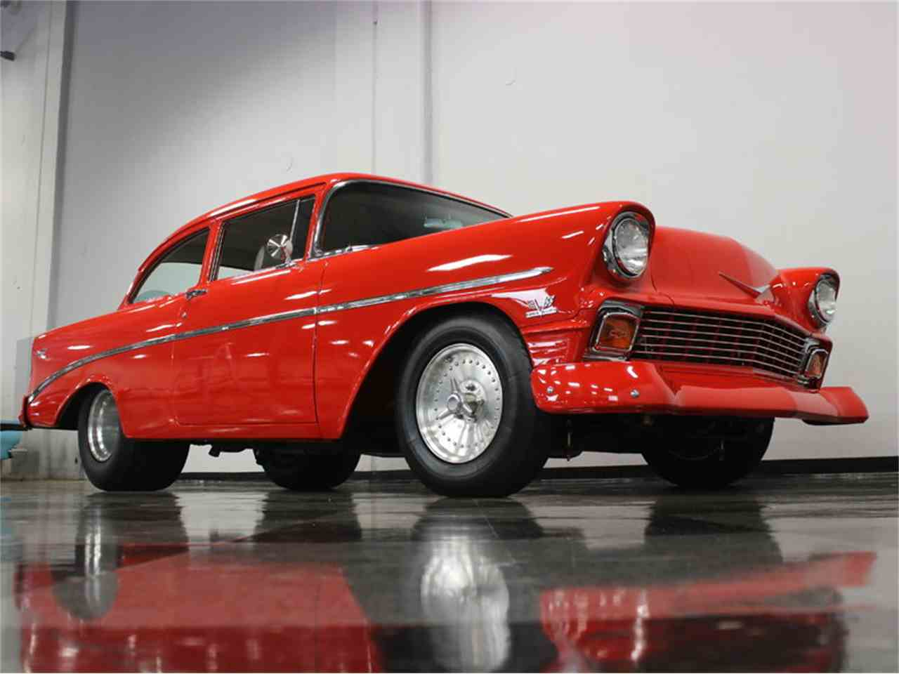 Large Picture of 1956 Chevrolet 210 located in Ft Worth Texas Offered by Streetside Classics - Dallas / Fort Worth - JAEY