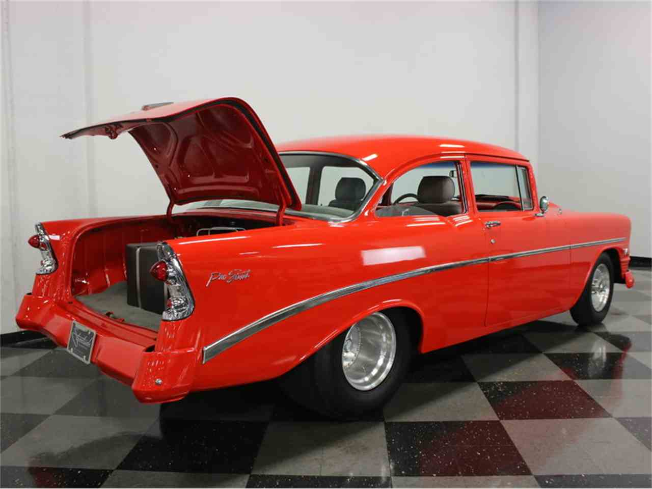 Large Picture of Classic '56 Chevrolet 210 - $57,995.00 Offered by Streetside Classics - Dallas / Fort Worth - JAEY