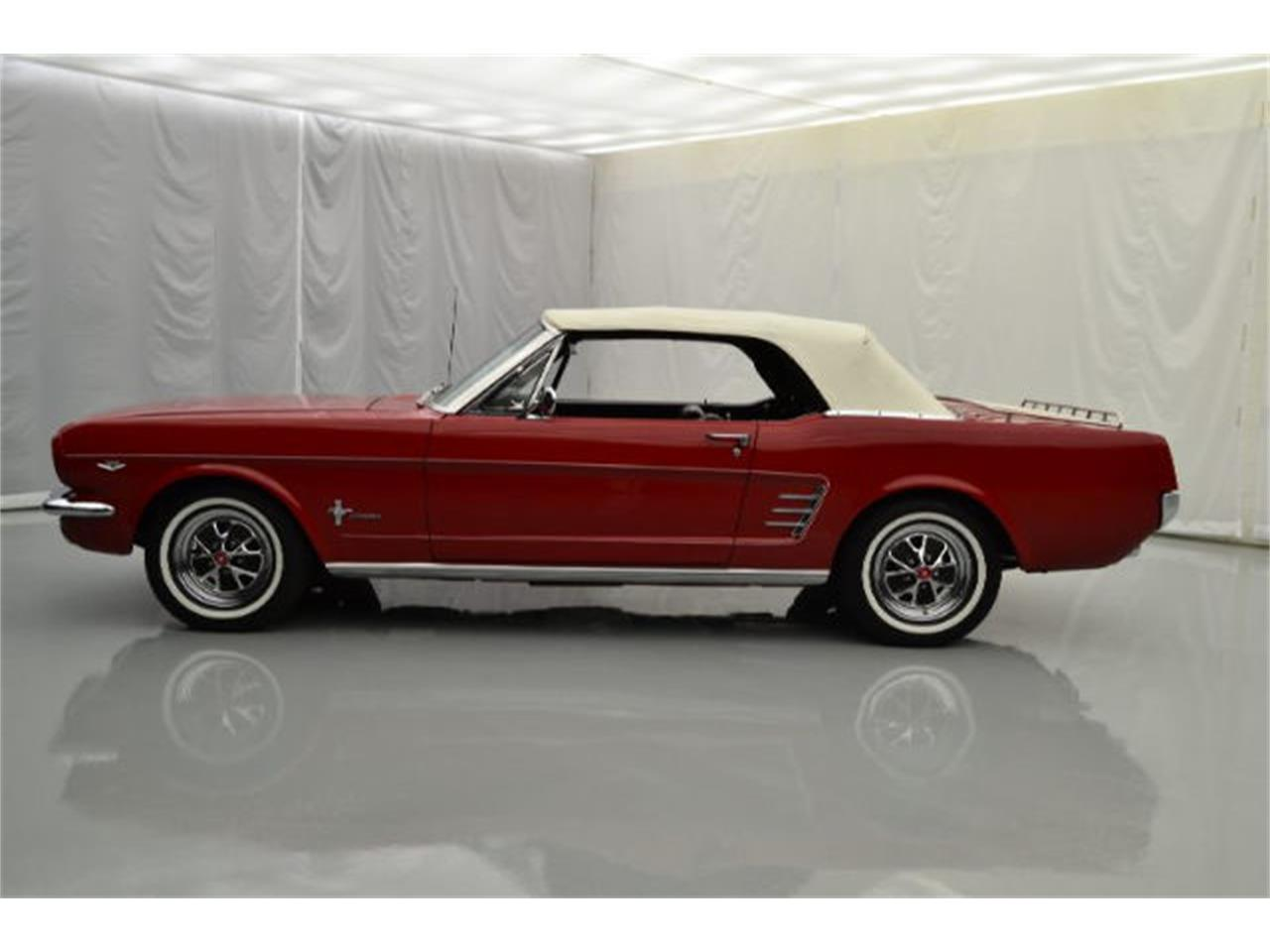 Large Picture of Classic 1966 Ford Mustang located in Hickory North Carolina - $39,995.00 Offered by Paramount Classic Car Store - JBCM