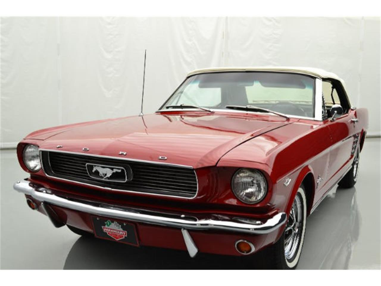 Large Picture of Classic 1966 Mustang located in North Carolina Offered by Paramount Classic Car Store - JBCM