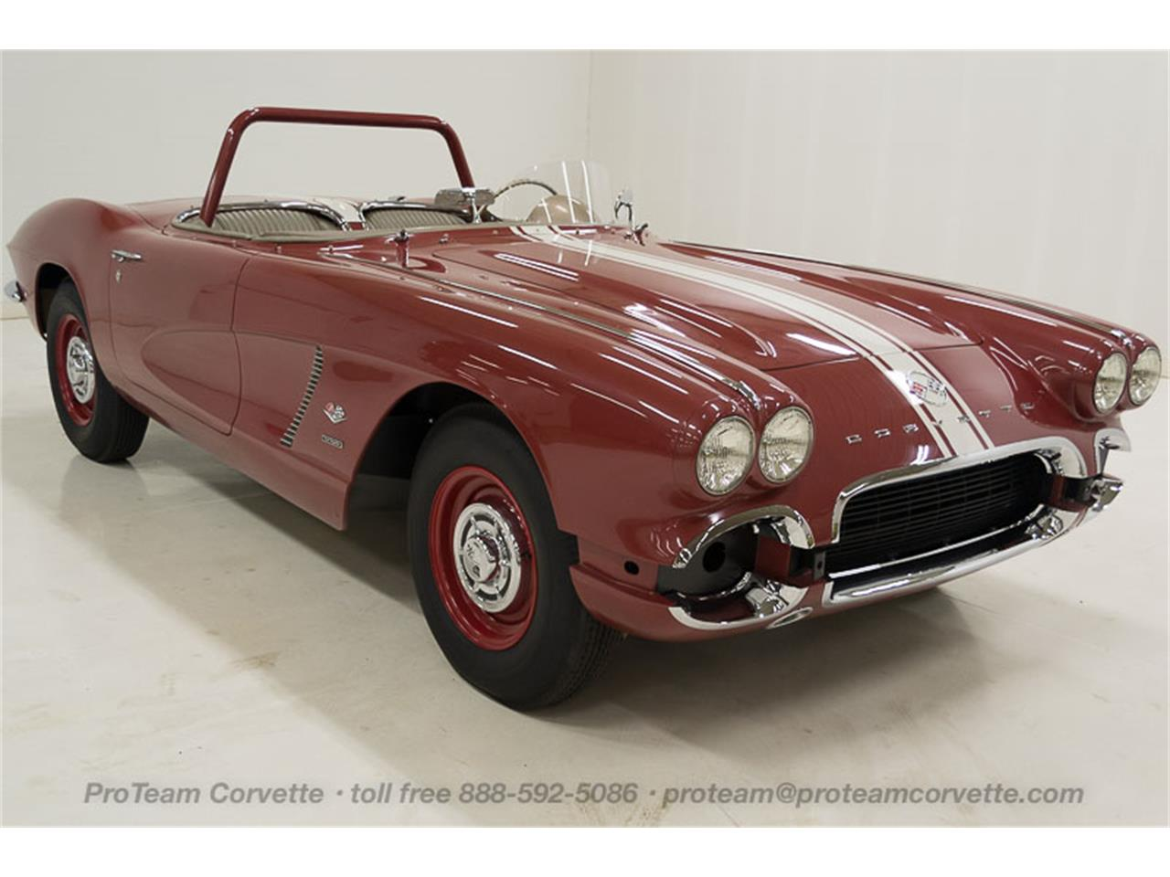 Large Picture of 1962 Corvette located in Ohio - $300,000.00 Offered by Proteam Corvette Sales - JBG4