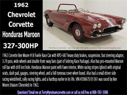 Picture of 1962 Chevrolet Corvette located in Ohio Offered by Proteam Corvette Sales - JBG4