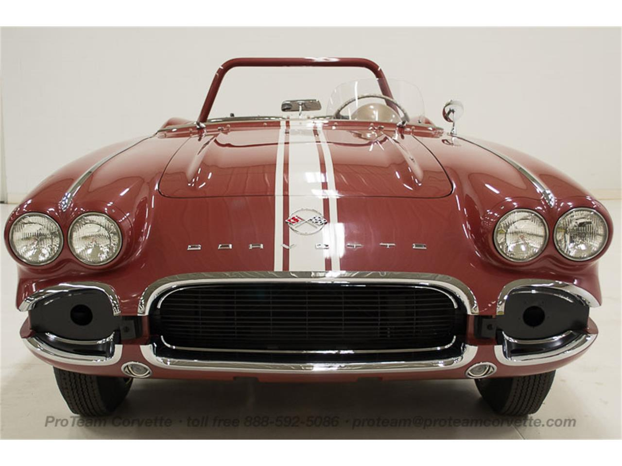 Large Picture of '62 Chevrolet Corvette located in Ohio Offered by Proteam Corvette Sales - JBG4