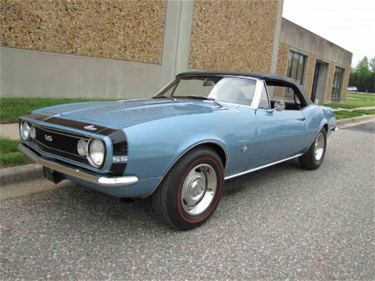 1967 Chevrolet Camaro Ss For Sale Classiccars Com Cc