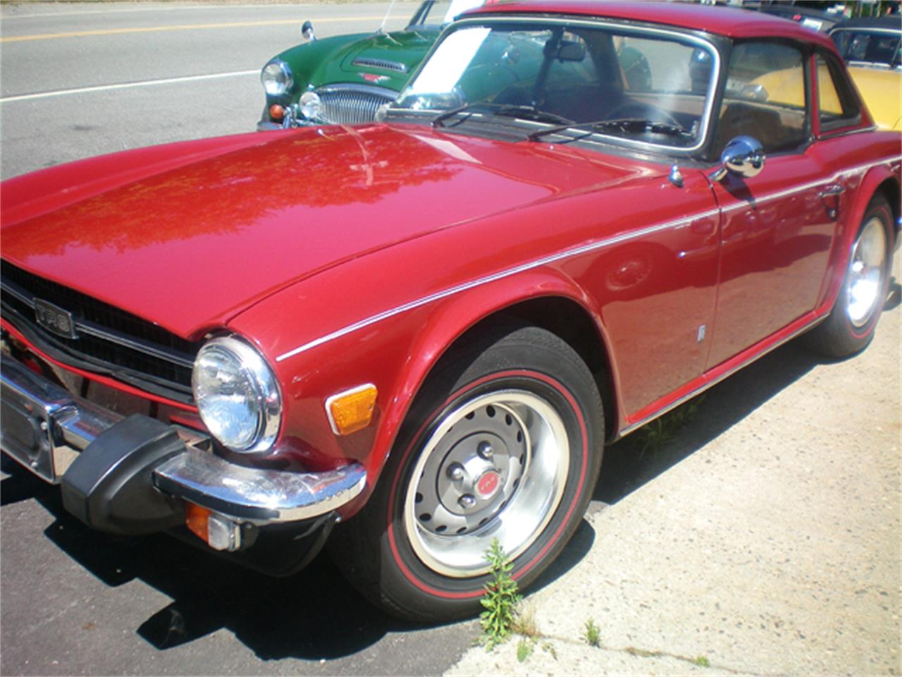 Large Picture of '75 TR6 - JBUK
