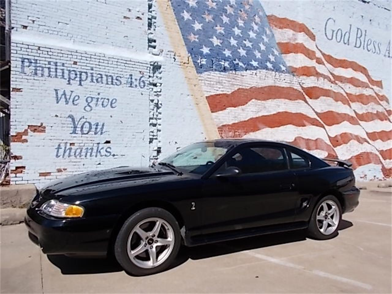 For sale 1998 ford mustang cobra in skiatook oklahoma