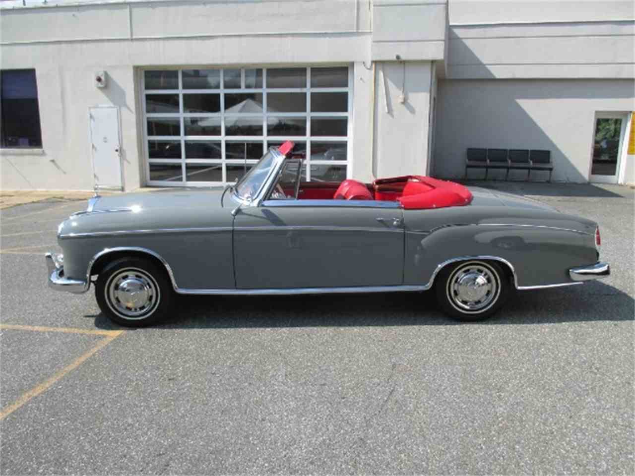 1959 mercedes benz 220 for sale cc 900195 for Mercedes benz bethesda md