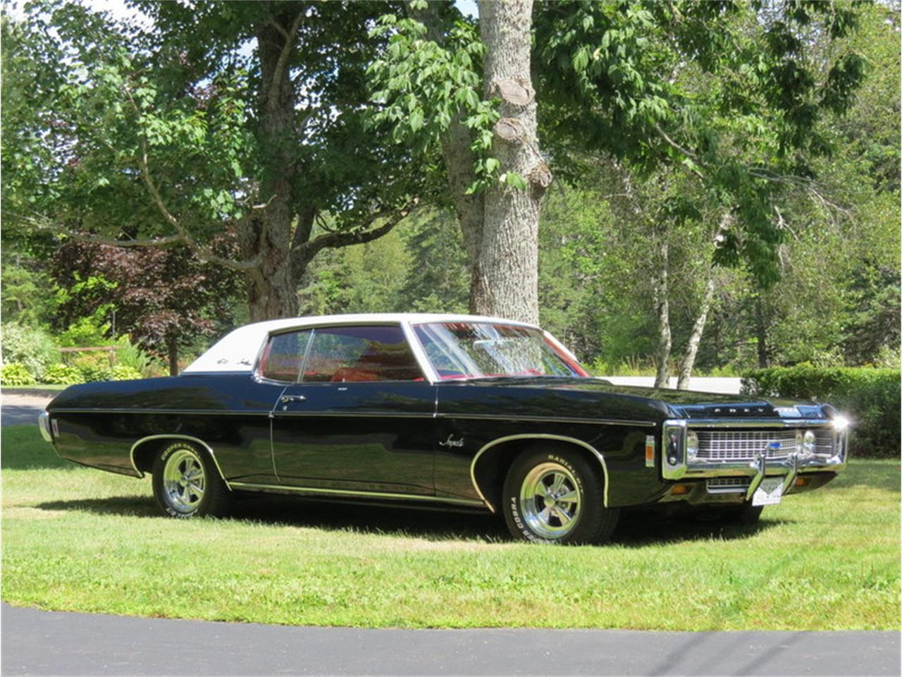 Large Picture of Classic '69 Chevrolet Impala located in North Andover Massachusetts - $22,500.00 Offered by Silverstone Motorcars - JALU