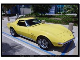 Picture of Classic '70 Corvette located in Florida Offered by American Classic Car Sales - JC5K