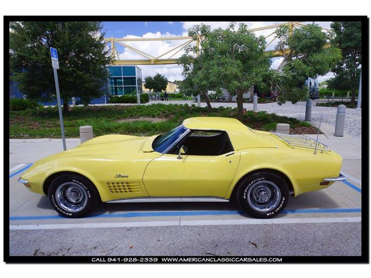 Large Picture of Classic 1970 Chevrolet Corvette Offered by American Classic Car Sales - JC5K