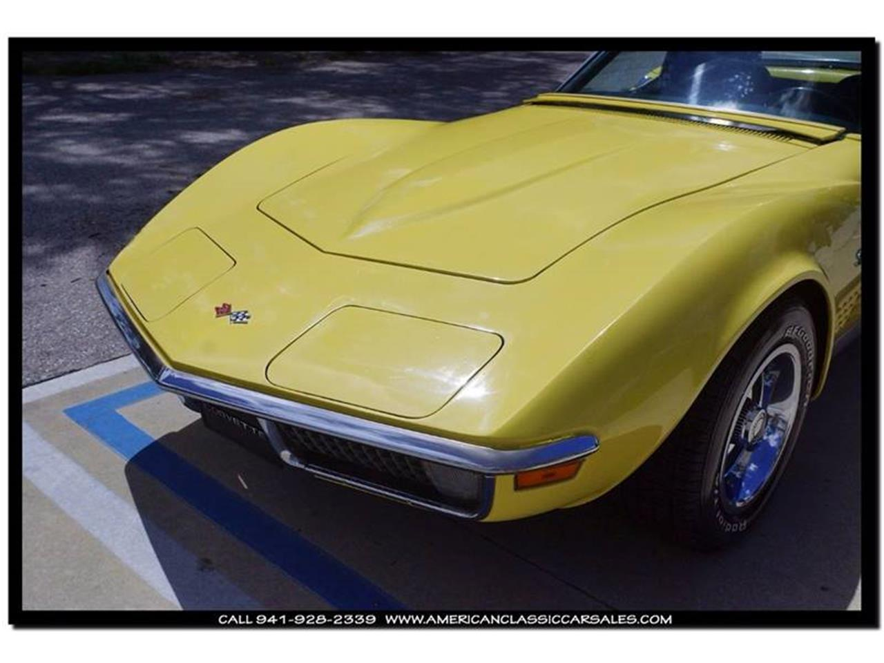 Large Picture of Classic '70 Chevrolet Corvette located in Florida - $35,900.00 Offered by American Classic Car Sales - JC5K