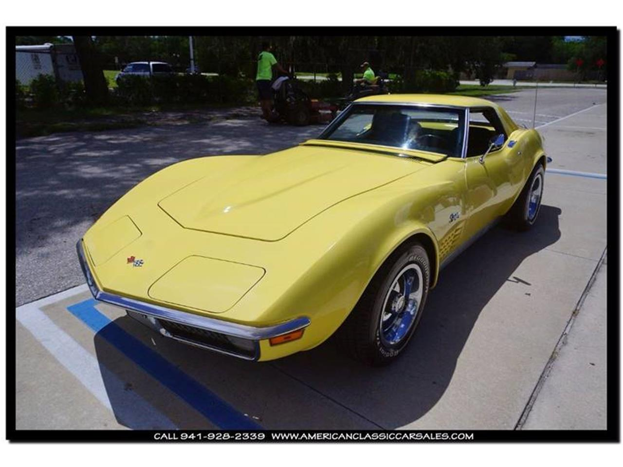 Large Picture of 1970 Chevrolet Corvette located in Florida - $35,900.00 Offered by American Classic Car Sales - JC5K