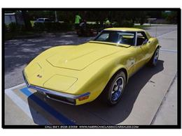 Picture of Classic 1970 Corvette located in Florida Offered by American Classic Car Sales - JC5K