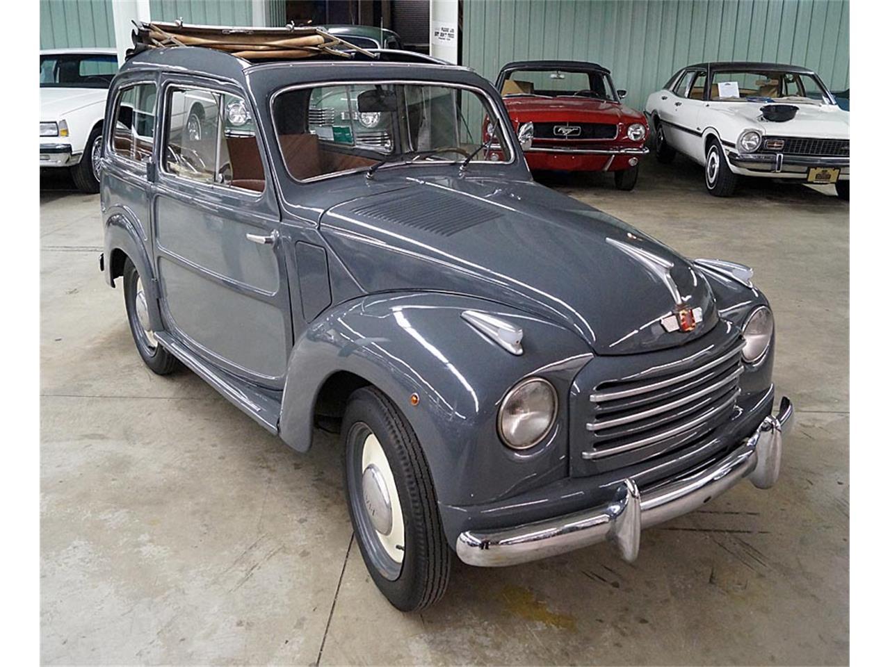 1952 fiat 500c topolino belvedere for sale classiccars. Black Bedroom Furniture Sets. Home Design Ideas