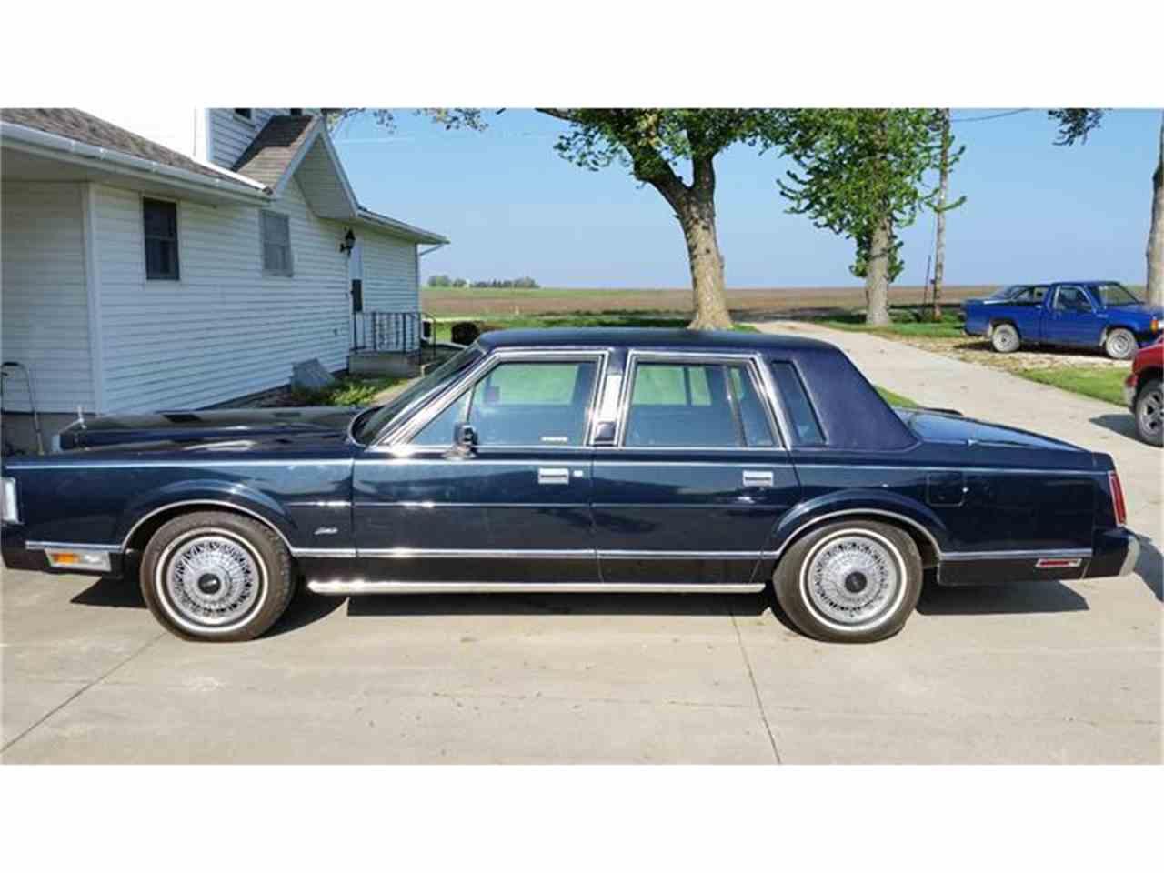 1985 Lincoln Town Car for Sale | ClicCars.com | CC-902994